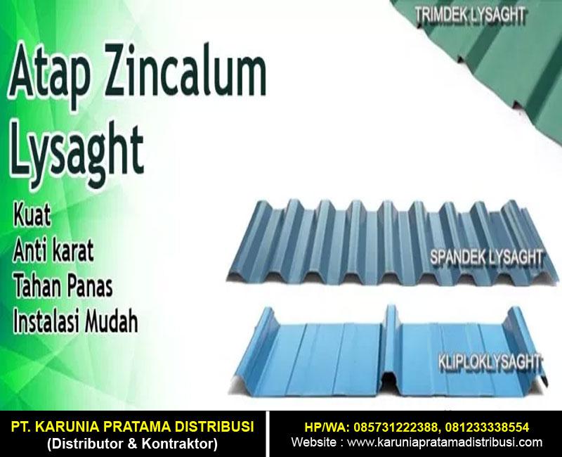 Atap Zincalume Lysaght